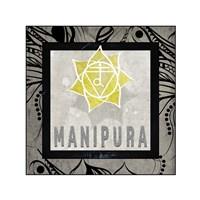 Chakras Yoga Tile Manipura V2 Fine-Art Print