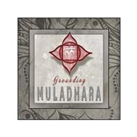 Chakras Yoga Tile Muladhara V3 Fine-Art Print