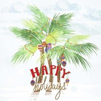 Xmas Palm Trees Fine-Art Print