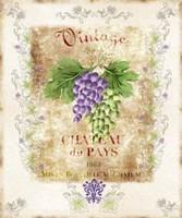 Vintage Wine Label Fine-Art Print