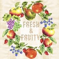 Fruit Wreath Fine-Art Print