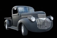 Grey Chevy Pickup Truck Fine-Art Print