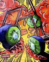 Kiwis In Action! Fine-Art Print
