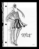Doodle Style Fine-Art Print