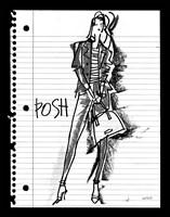 Doodle Posh Fine-Art Print