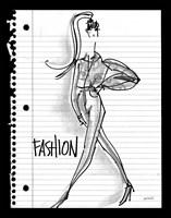 Doodle Fashion Fine-Art Print