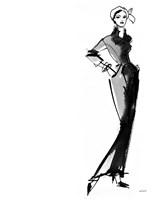 Fifties Fashion III Fine-Art Print