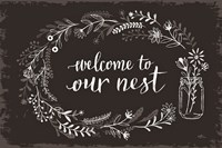 Our Nest I Black Fine-Art Print
