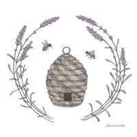 Happy to Bee Home II Fine-Art Print