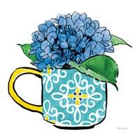 Floral Teacups III Fine-Art Print