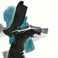 Black and Teal IV Fine-Art Print