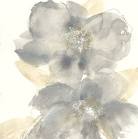 Floral Gray II Fine-Art Print