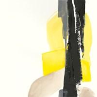 Black and Yellow I Fine-Art Print