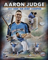 Aaron Judge 2017 Home Run Derby Champion Composite  88th MLB All-Star Game Fine-Art Print