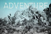 Ombre Adventure III Adventure Framed Print