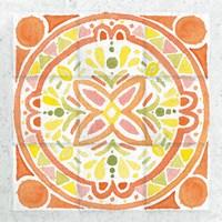 Citrus Tile I Fine-Art Print