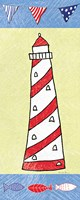 Coastal Lighthouse II Fine-Art Print