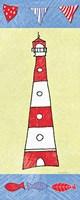 Coastal Lighthouse I Fine-Art Print