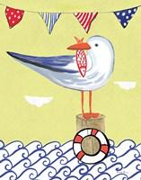 Coastal Bird II Fine-Art Print