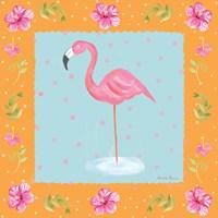 Flamingo Dance IV Fine-Art Print