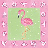 Flamingo Dance II Fine-Art Print