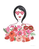 Valentine Chic I no Words Fine-Art Print