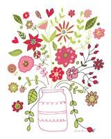 Valentines Flowers II Fine-Art Print