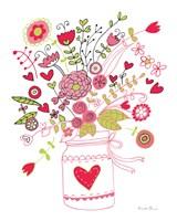 Valentines Flowers I Fine-Art Print