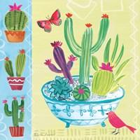 Cacti Garden III Fine-Art Print