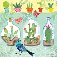 Cacti Garden I Fine-Art Print