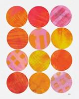 Kitchen Garden Dots I Fine-Art Print