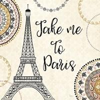 Romance in Paris I Fine-Art Print
