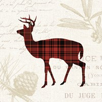 Plaid Lodge II Fine-Art Print