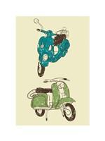 Scooter I Fine-Art Print