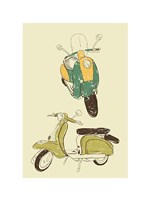 Scooter III Fine-Art Print