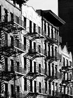 Fire Escapes in Manhattan, NYC Fine-Art Print