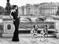 Walking in Paris Fine-Art Print