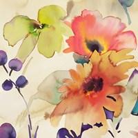 Floral Fireworks I Fine-Art Print