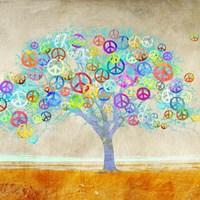 Tree of Peace (detail) Fine-Art Print