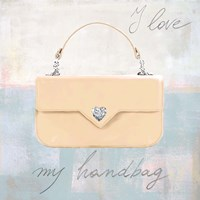 I Love my Handbag Fine-Art Print