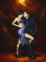 Held in Tango Fine-Art Print