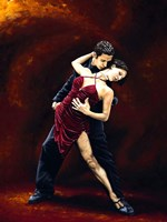 The Passion of Tango Fine-Art Print