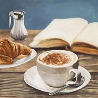 Cappuccino & Book Fine-Art Print