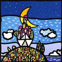 Barca sulla Collina Fine-Art Print