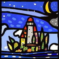 Isola e Luna (detail) Fine-Art Print