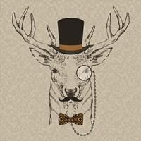 Deer-man Fine-Art Print