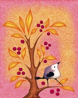 Blank Card Bird 4b Fine-Art Print