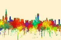 Chicago Illinois Skyline-SG Fine-Art Print