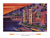 Italian Sunset Fine-Art Print