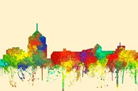 Roanoke Virginia Skyline-SG Fine-Art Print